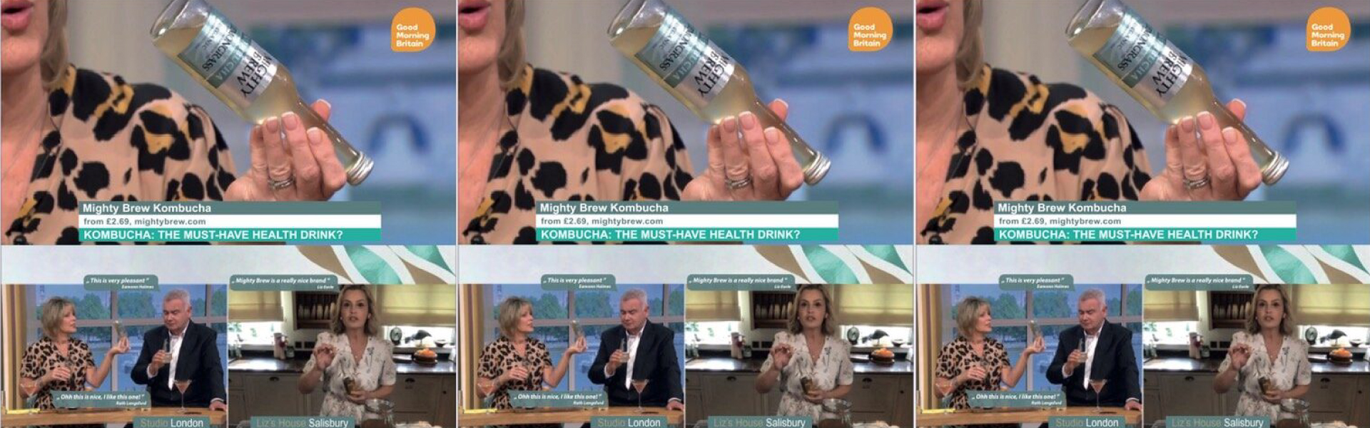 Mighty Brew On ITV's This Morning